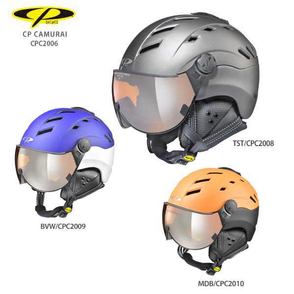 高価値 19-20 旧モデル 送料無料激安祭 ヘルメット スキー スノー スノーボード スノボ CAMURAI〔カムライ〕バイザー付き シーピー メンズ レディース 2020 CP