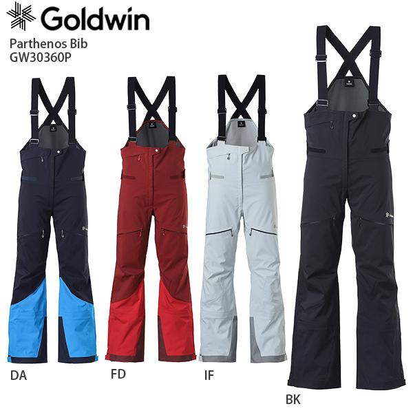 早期予約受付中 GOLDWIN〔ゴールドウィン スキーウェア レディース パンツ〕<2021>GW30360P Parthenos Bib〔パルテノスビブ〕【MUJI】