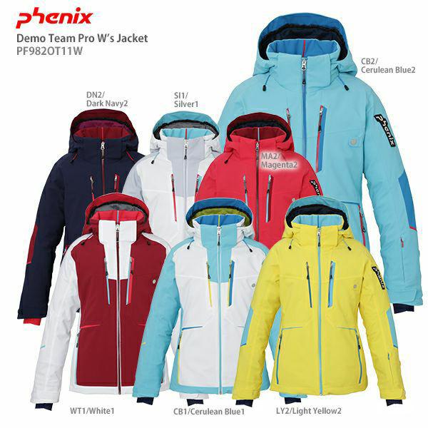 【39ショップ限定!エントリーでP2倍 6/11 01:59まで】PHENIX〔フェニックス スキーウェア レディース ジャケット〕<2020>Demo Team W's Jacket PF982OT12W【技術選着用モデル】【送料無料】 19-20