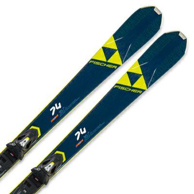 フィッシャー スキー板 ビンディング セット FISCHER <2020>RC ONE 74 ALLRIDE + RS 10 GW Powerrail Brake 78 G 取付無料 2020〔SA〕【X】