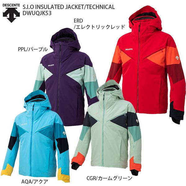デサント スキーウェア ジャケット DESCENTE <20-21> DWUQJK53 S.I.O INSULATED JACKET/TECHNICAL 2021 NEWモデル