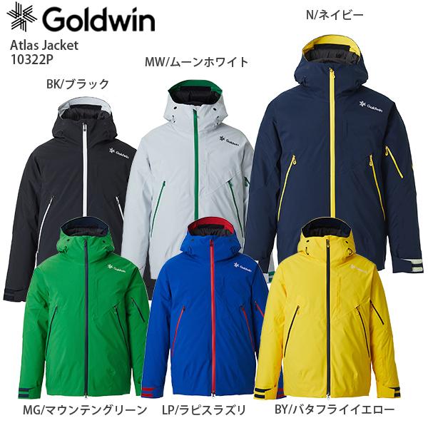 早期予約受付中 GOLDWIN〔ゴールドウィン スキーウェア ジャケット〕<2021> G10322P Atlas Jacket〔アトラスジャケット〕【MUJI】