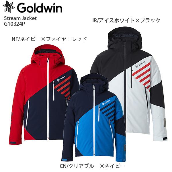早期予約受付中 GOLDWIN〔ゴールドウィン スキーウェア ジャケット〕<2021> G10324P Stream Jacket〔ストリームジャケット〕【MUJI】