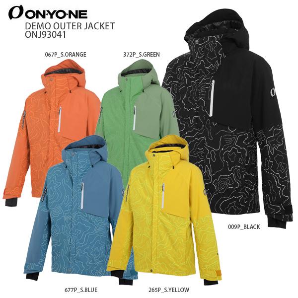 オンヨネ スキーウェア ジャケット ONYONE <20-21>ONJ93P43 PRINT OUTER JACKET プリントアウタージャケット 2021 NEWモデル