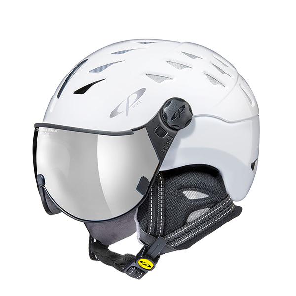 【39ショップ限定!エントリーでP2倍 6/11 01:59まで】CP〔シーピー スキーヘルメット〕<2020>CP CUMA /CPC2017 WHW バイザー付き