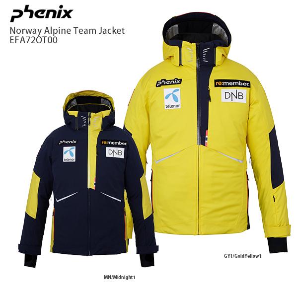 フェニックス スキーウェア ジャケット PHENIX <20-21>EFA72OT00 Norway Alpine Team Jacket ノルウェーアルパインチーム ジャケット replica 2021 NEWモデル