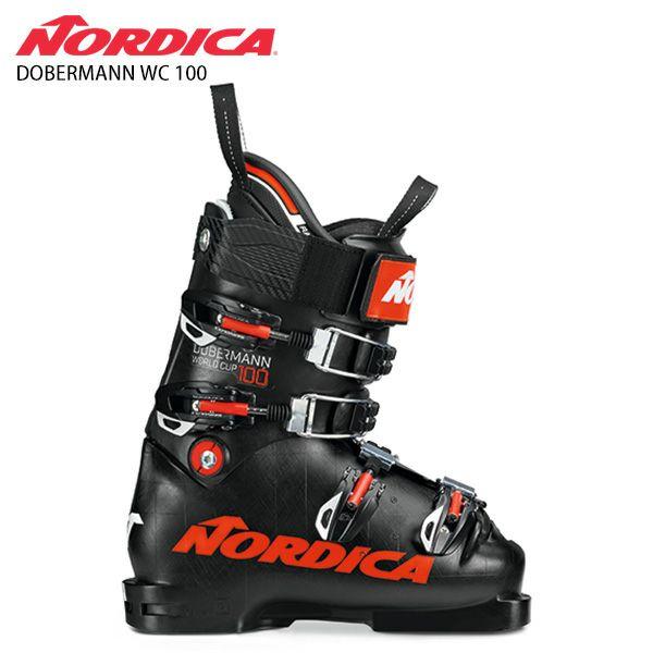 2020-2021 20 オンラインショッピング 21 スキー ブーツ ファッション通販 レーシング 競技 基礎 男性用 WC DOBERMANN スキーブーツ 100〕 ノルディカ 2021 NORDICA NEWモデル 100〔ドーベルマン