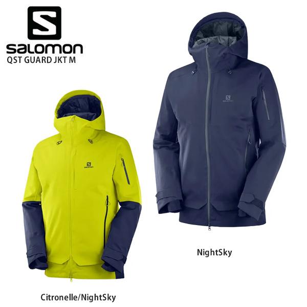 SALOMON〔サロモン スキーウェア ジャケット〕<2020> LC1196700 / QST GUARD JKT M〔QSTガード ジャケットM〕