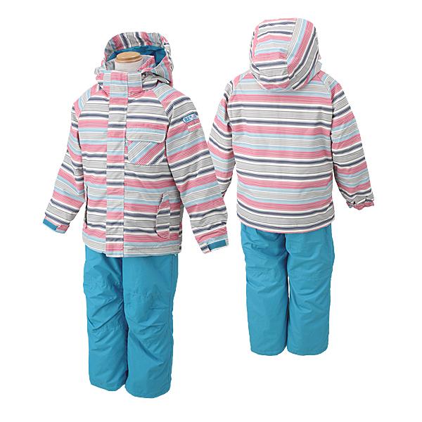 (上) ONYONE 木犀孩子滑雪服的孩子 (DADES) RES57003 270 P 665 (奶油/绿松石)
