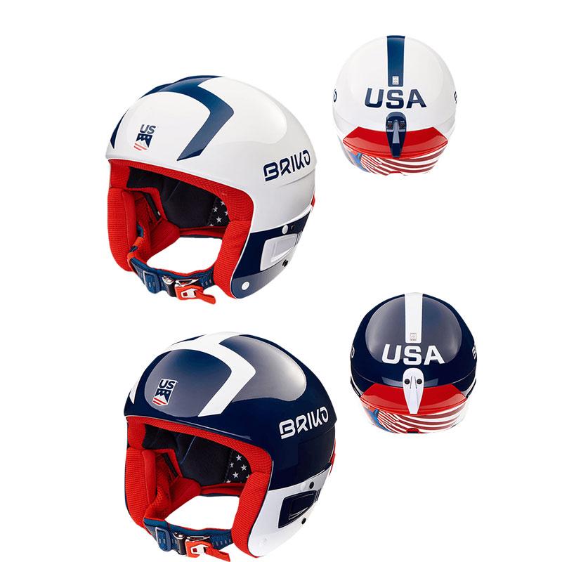 BRIKO(ブリコ) 2001J10 VULCANO FIS 6.8 USSA ユニセックス スキー ヘルメット