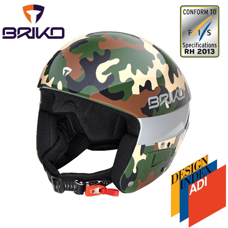 BRIKO VULCANO ボルケーノ FIS6.8 レーシング スキーヘルメット 2017-2018w メンズ レディース 2000020 A58(アーミーカモ)