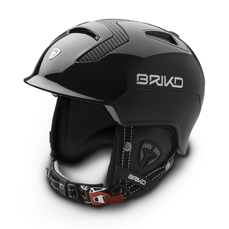 スキーヘルメット 大人 メンズ レディースMONGIBELLO CARBONIO モンジベロカーボン BRIKOブリコ SH0002-14 N004(CARBON BLACK MATT CARBON BLACK)