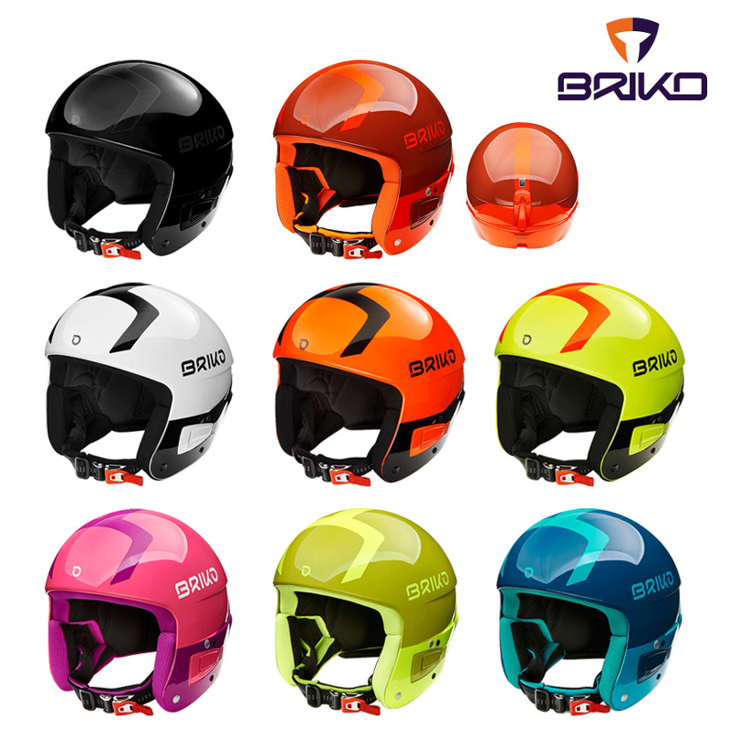 """BRIKO(ブリコ) 2002JK0 BRIKO VULCANO""""FIS 6.8""""[ボルケーノ] レーシング スキーヘルメット"""