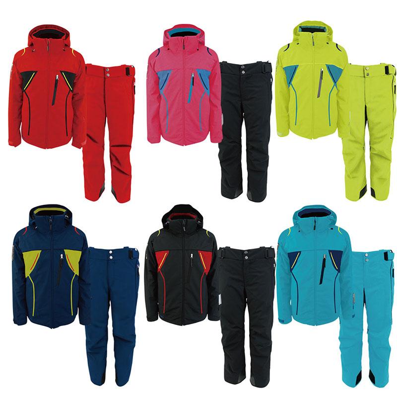 ONYONE(オンヨネ) ON91550SET TEAM OUTER JACKET&PANTS スキースーツ