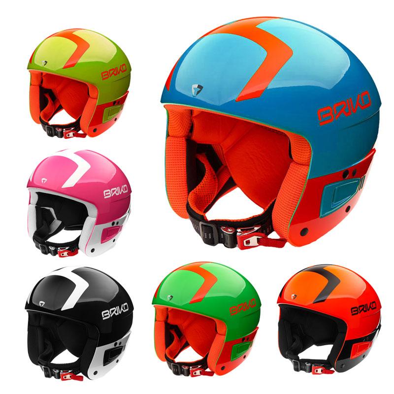 BRIKO(ブリコ) 2000030 VULCANO JUNIOR FIS6.8 スキーヘルメット FIS対応モデル 子供用