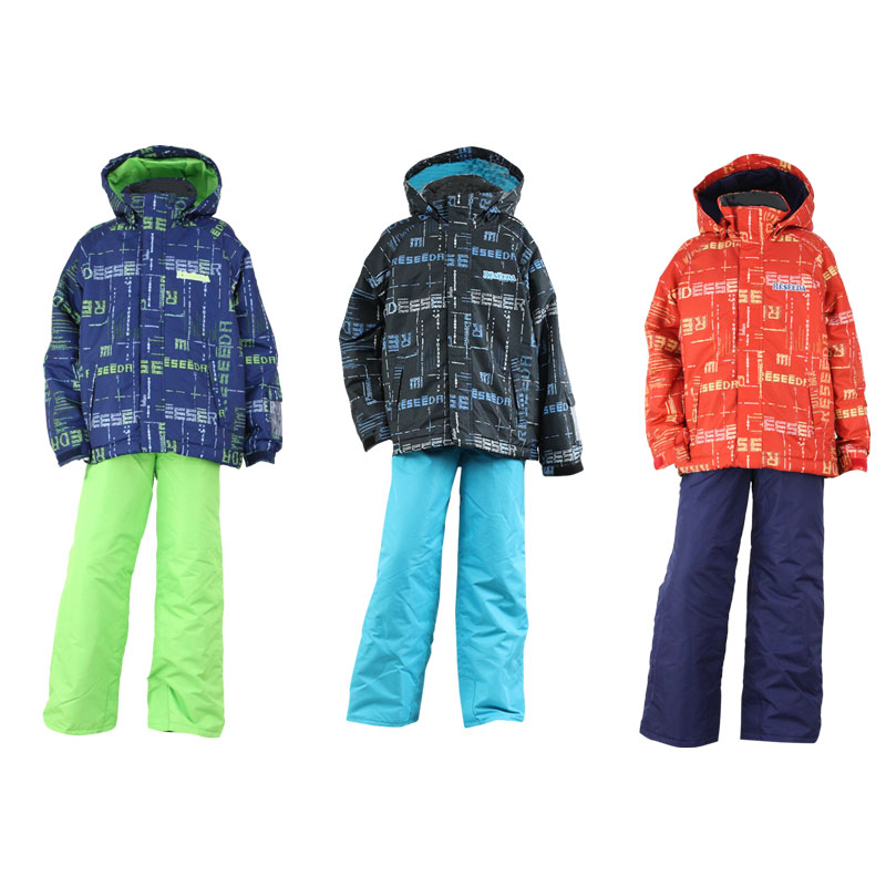 ONYONE(オンヨネ) RES71007 ジュニアスキースーツ(上下セット) 小学生・中学生 スキーウェア ボードウェア 130 140 150 160 雪遊び