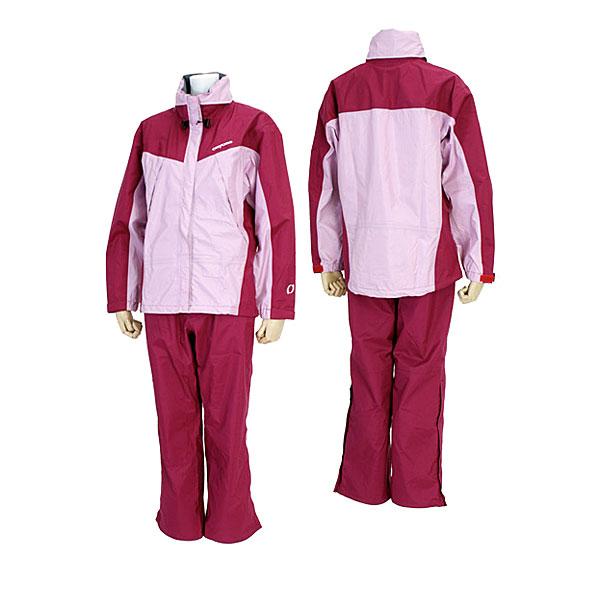 耐水性: 20,000 毫米透气: 8,000 g/m 2 / 24 h (b-2) 保佑科技进步女士雨衣或下设置 ONYONE 雨衣 ODS 81001 瀑布 971 / 957 妇女的巴塔哥尼亚女子 (粉红-紫色或紫色) 02P31Aug14