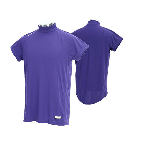 Durable distinguished shoulder sleeve ONYONE baseball gear OKA96401 847N On Yo Ne men training suit high gray termiddle neck shoulder sleeve (the )02P28oct13 which there is D. purple (name in)