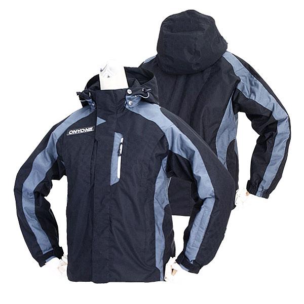 機能性抜群のジュニア用ジャケット。 ONYONE ONJ71043 009 オンヨネ ジュニア スキーウェア ジャケット(ブラック)