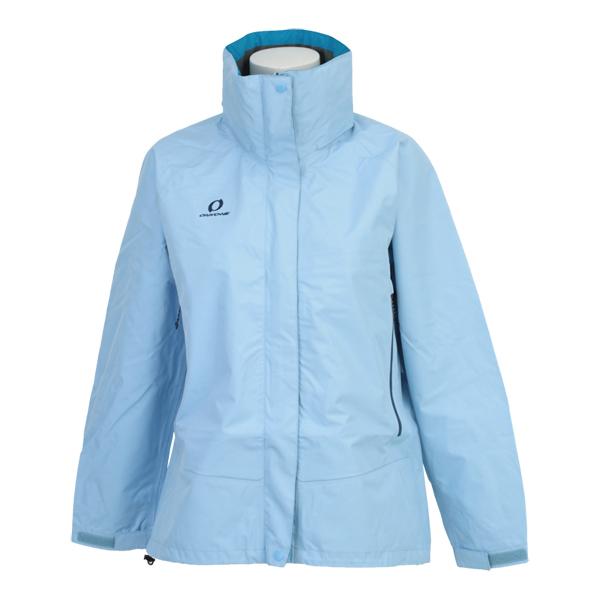 ONYONE(オンヨネ) レディースブレステックレインジャケット 2016-2017 女性 雨具 透湿 耐水圧 防水 撥水 アウトドア キャンプ トレッキング 登山 ODJ88034 661(サックス)