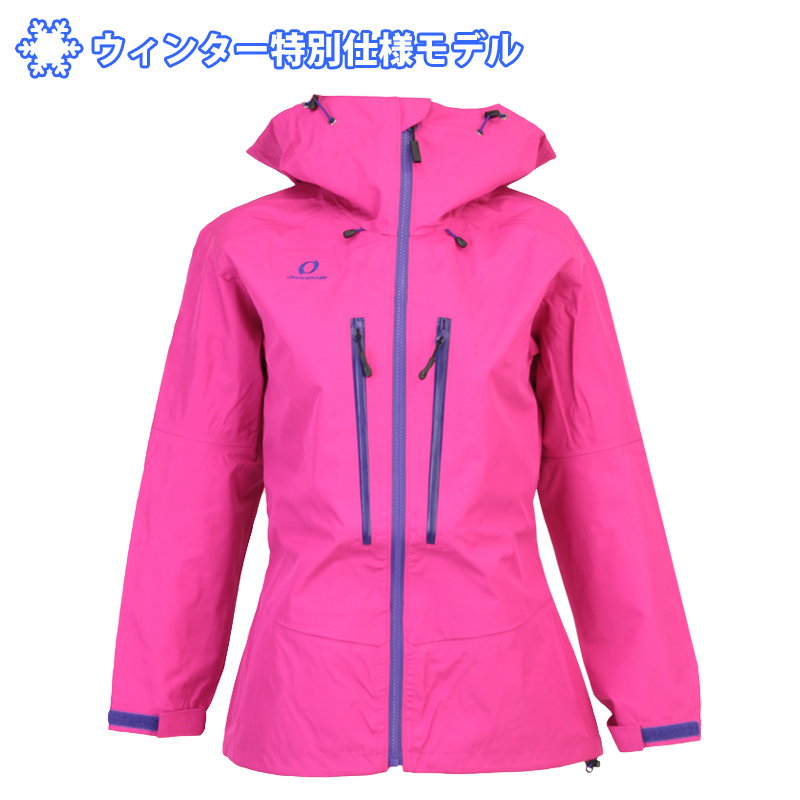 ON・YO・NE(オンヨネ) ODJ88937 シェルジャケット マウンテンジャケット レディース スキージャケット バックカントリー 9