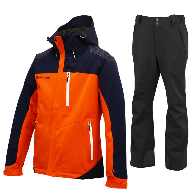 スキージャケット&パンツ 上下セット ONJ99350-99310 上下セット 116009(ORANGExBLACK) ONJ99350-99310 116009(ORANGExBLACK):b03b9fd2 --- projetoreservado.com