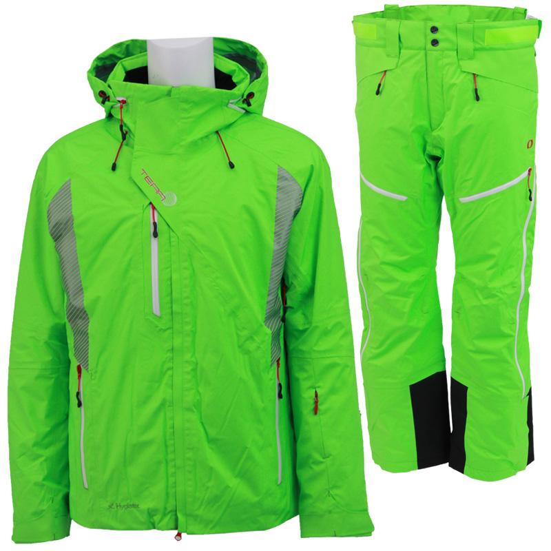 ONYONE(オンヨネ) ONJ99141&ONP99151 スキージャケットとスキーパンツの上下セット ONJ99141S F342(FGREEN)