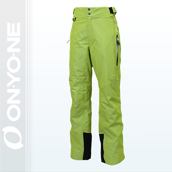 大人 メンズ スキーパンツ ONYONE(オンヨネ)  海外モデル ONP18060 315(LIME)