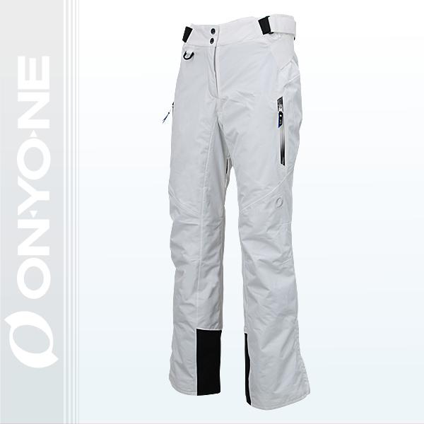 大人 レディース スキーパンツ ONYONE(オンヨネ)  海外モデル onp18070 001(WHITE)