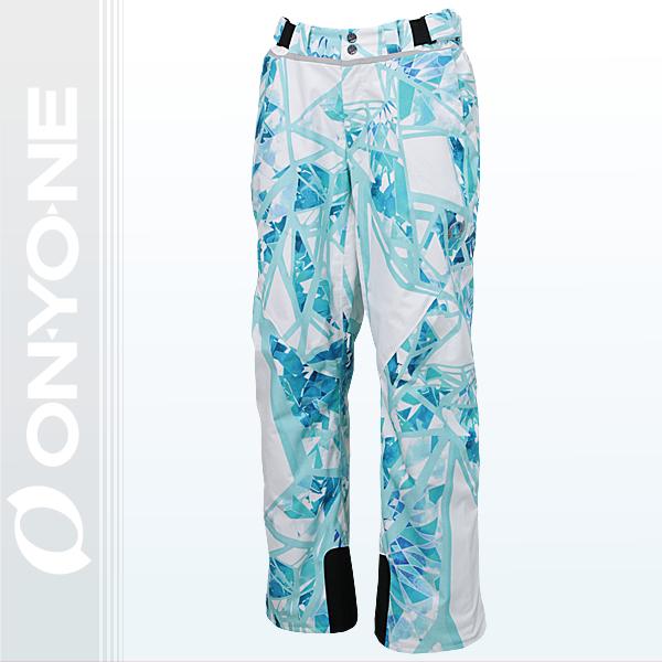 大人 メンズ レディース スキーパンツ スキーウェア ONYONE(オンヨネ) ONP98156 100pg(SG-WHITE)