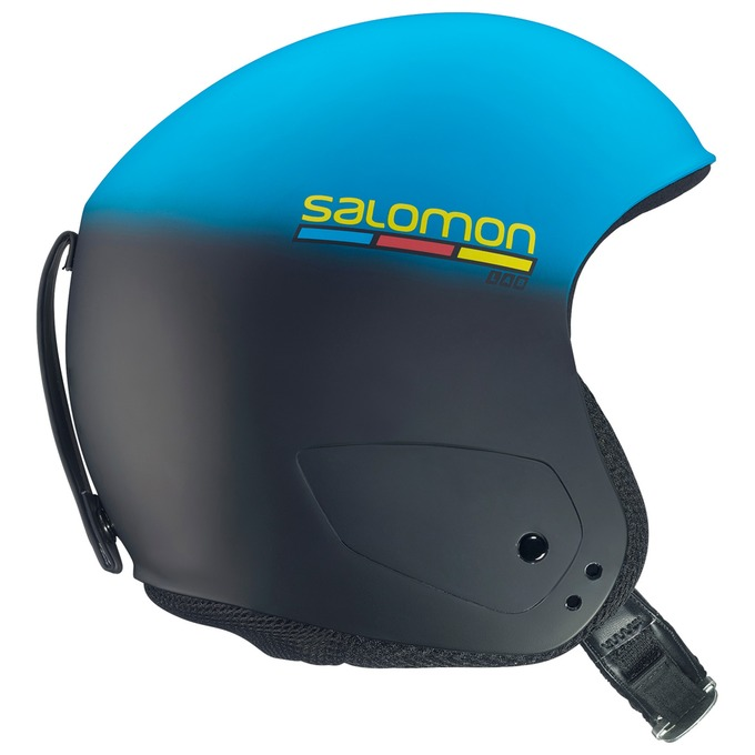 SALOMON(サロモン) X RACE SLAB レーシング スラローム FIS対応 スキーヘルメット L36701000 BLUE(ブルー)