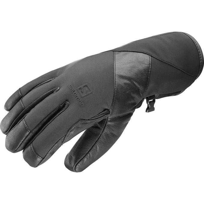 SALOMON(サロモン) VISION GTX M グローブ スキー スノーボード 手袋 防水 ゴアテックス 大人用 L39495300 BLACK(ブラック)