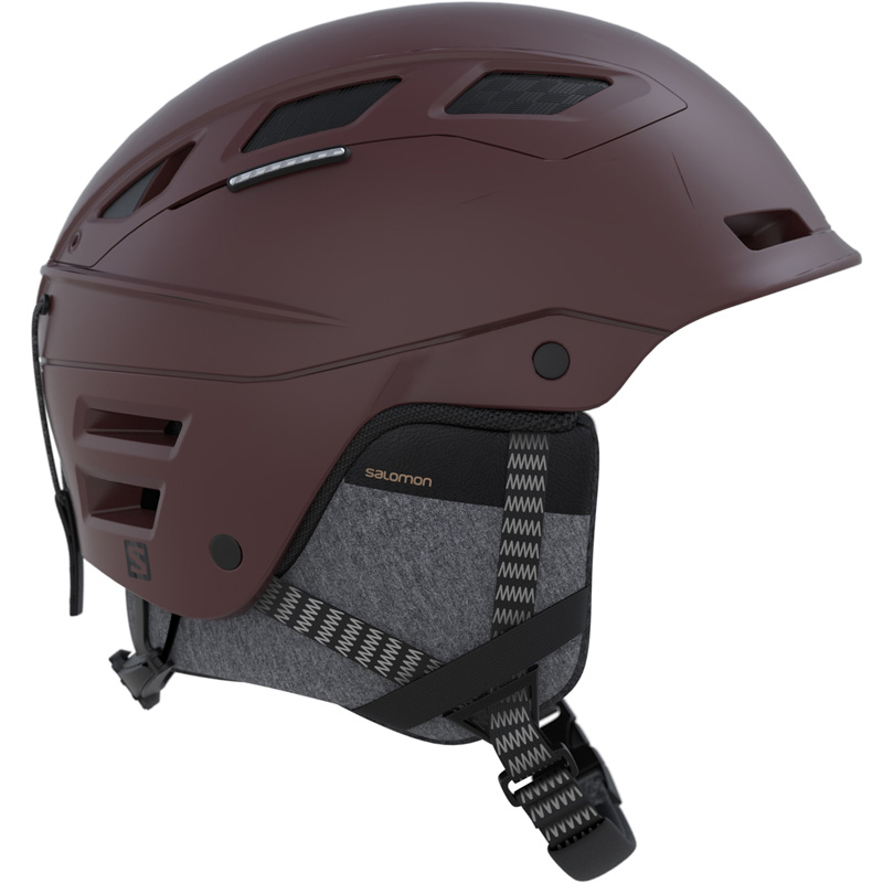 SALOMON(サロモン) QST CHARGE スキーヘルメット ツーリング メンズ 大人用 フリーライド L39918600 BLOWN(ブラウン)