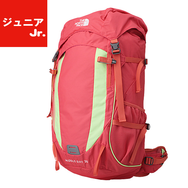 c69c52fd3 THE NORTH FACE (North Face) 30L middle D (kids) trekking pack NMJ71504 FR  (フィエスタレッド)