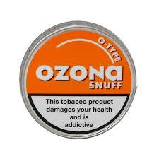 Ozona O-Type Snuff bisher Orange かぎたばこ 現金特価 期間限定特価品 5g