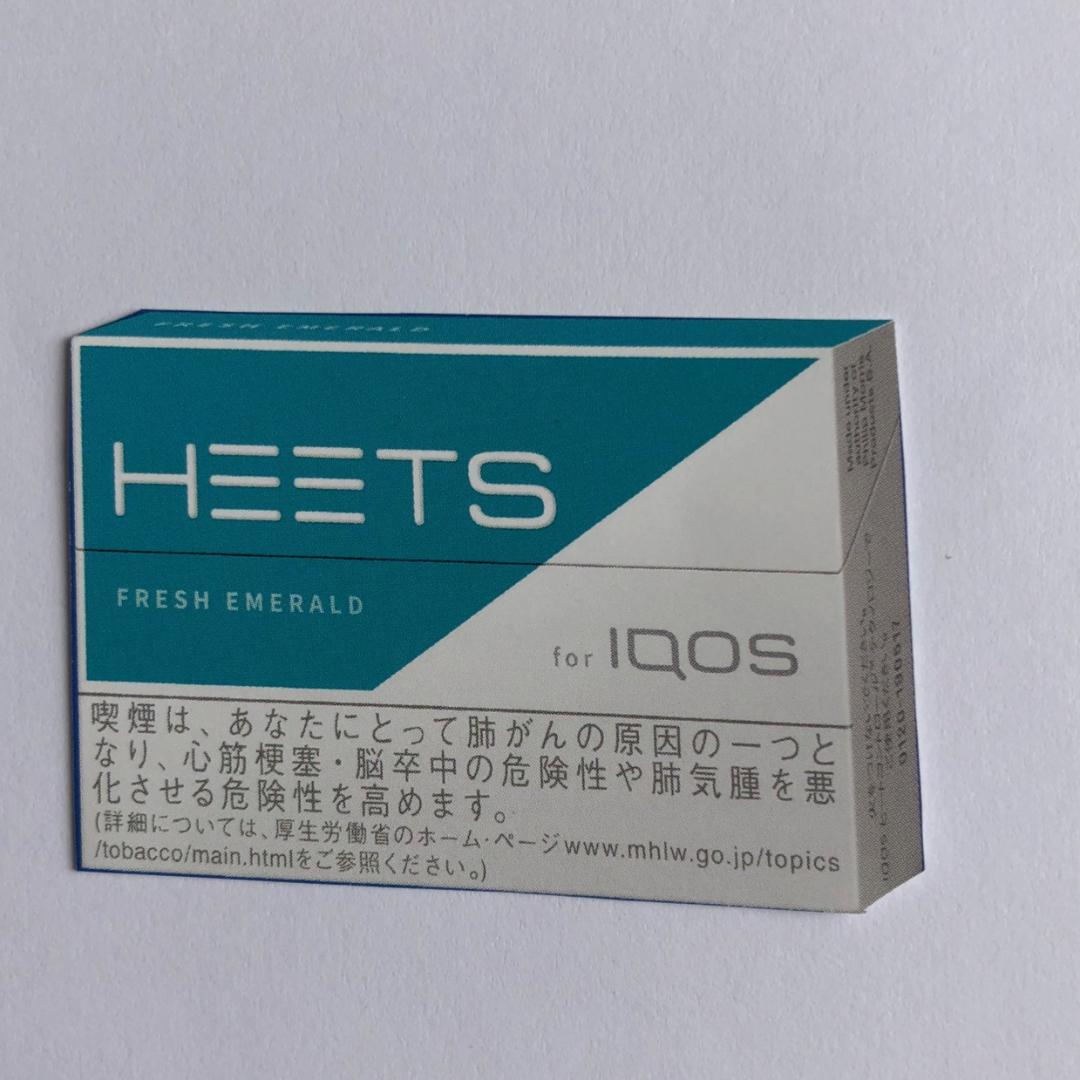 iQOS HEETS FRESH EMERALD アイコス ヒーツ 470yen :10 + snus 950yen:4