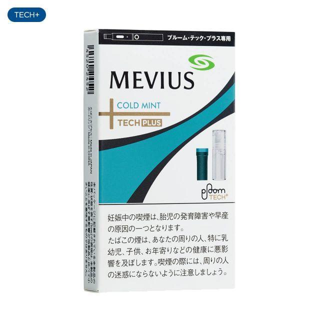 MEVIUS Cold Mint for Ploom TECH PLUS メビウス・コールドミント・フォー・プルーム・テック・プラス 500yen:4+snus 950yen:4