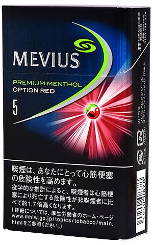 10packs Mevius premium menthol option red 5 海外販売専用商品 日本国内配送不可