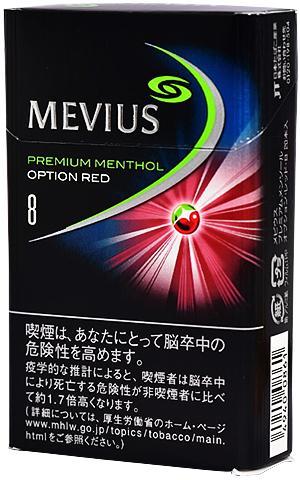 10packs Mevius premium menthol option red 8 海外販売専用商品 日本国内配送不可