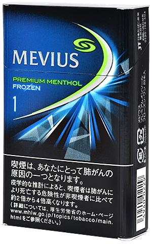 10packs Mevius premium menthol Frozen .1 海外販売専用商品 日本国内配送不可
