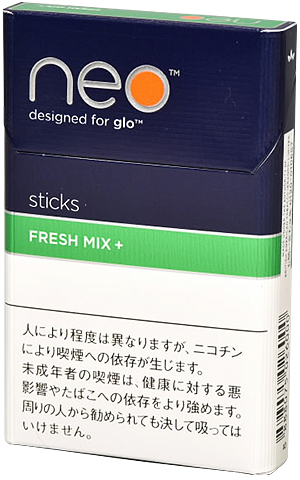 200sticks glo NEO Fresh Mix plus 海外販売専用商品 日本国内配送不可 international delivery available