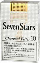 10packs Seven Stars 10 Box 海外販売専用商品 日本国内配送不可 international delivery available