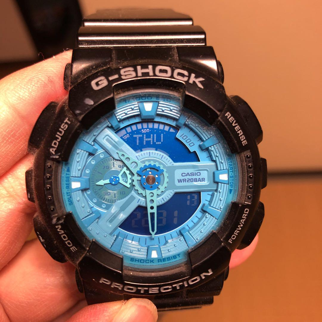 international delivery available,second-hand CASIO G-SHOCK ga-1108