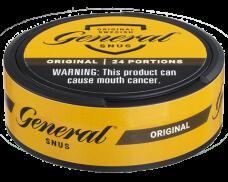 ジェネラル 24g 煙の出ないたばこ スヌース