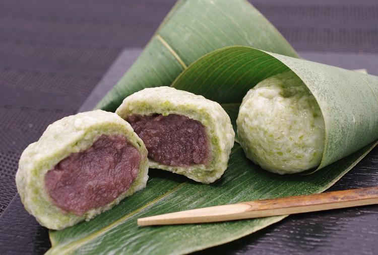半額 高級青海苔を使った笹の葉仕立ての麩まんじゅうです 和菓子 麩まんじゅう 全商品オープニング価格 麩饅頭