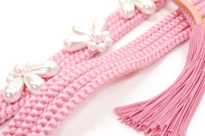 Obi cord for long-sleeved kimono obi cord pink coming-of-age ceremony obi cord long-sleeved kimonos
