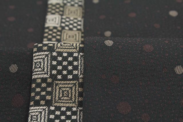 OBI brand-safe tips are how to Roman cream black floral polka-dot dot fine band yukata belt 半巾 belt kimono yukata