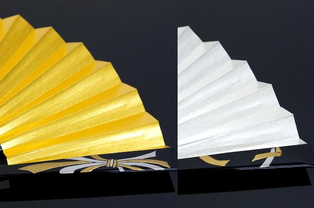 Superimposed noshi fan gold for weddings for matrimonial wedding wedding reception tomesode houmongi kimono kimono Suehiro-fan