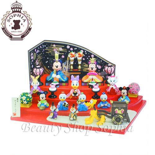ミッキーと仲間達のひな人形 ひな人形 2019年ひな飾り ディズニー 雛人形 雛祭り ひな祭り 雛飾り おひな様お雛様 桃の節句 Disney 【ディズニーリゾート限定】