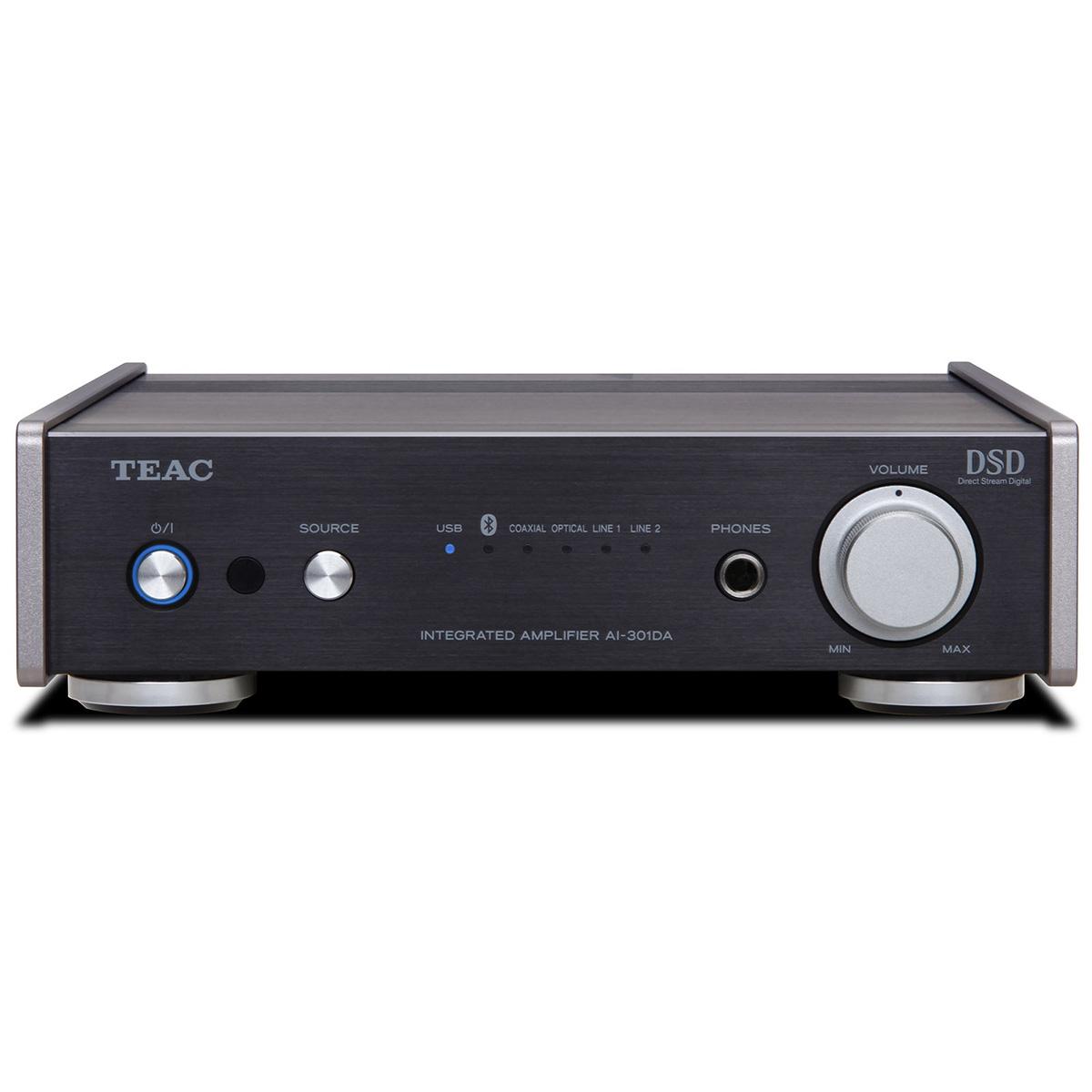 ティアック Bluetooth/USB/DAC搭載ステレオプリメインアンプ Reference 301 スペシャルパッケージ AI-301DA-SP/B